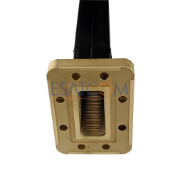 Esatcom Flexible Twistable Waveguide for WR137 48 inches