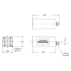 Norsat 5700R C-Band PLL LNB