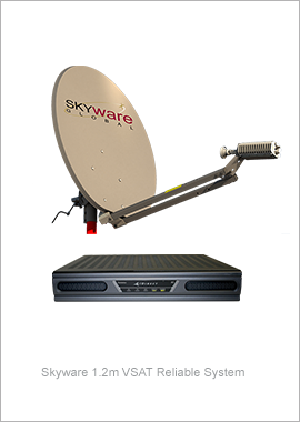 Skyware 1.2m VSAT System